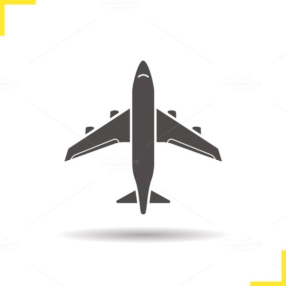 Private Jet Plane Silhouette Stock Photos Torrent  Designtube  Creative Des