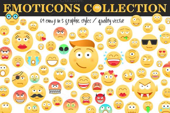 Emoticons Collection 64 Emoji