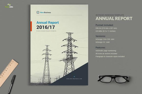 free indesign annual report templates designtube creative design content. Black Bedroom Furniture Sets. Home Design Ideas