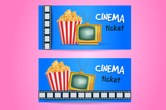 Template Cinema Tickets 187 Logotire Com
