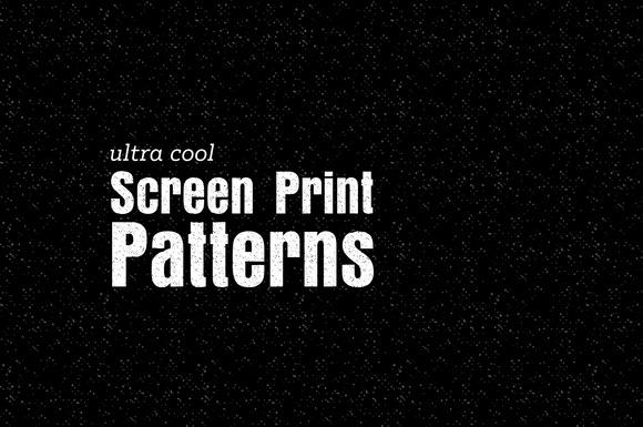 Screen Print Patterns