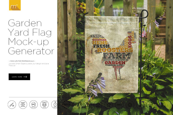 Graphic design yard sign mockup psd free designtube for Garden design generator