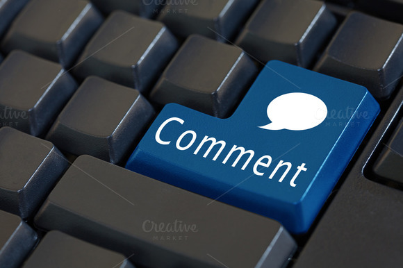 'Comment Button On Enter Keyboard