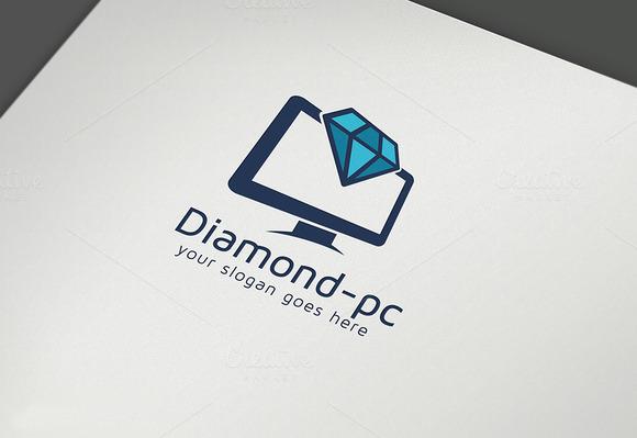 9 Abstract Diamond Logo Design  Free Sample Example