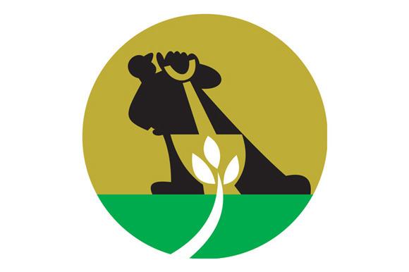 Gardener Landscaper With Shovel