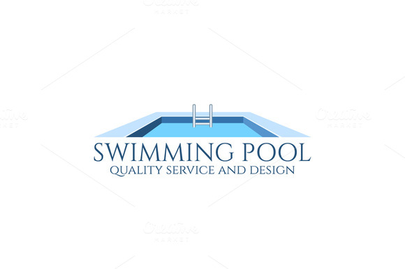 Free download swimming pool party flyer designtube creative design content - Swimming pool logo design ...
