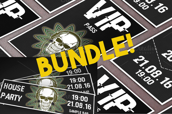 House Party Ticket VIP Pass Bundle