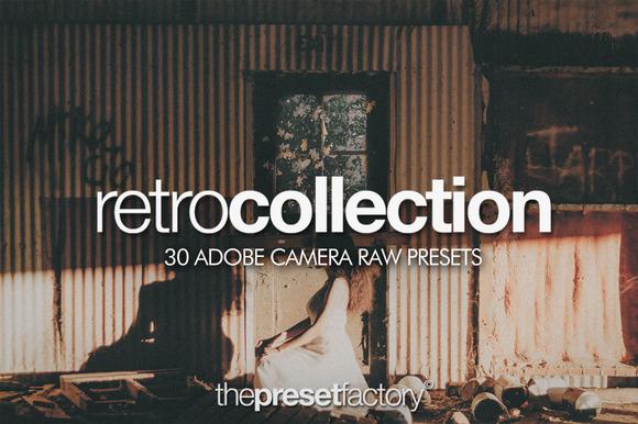 Retro Collection Adobe Camera Raw