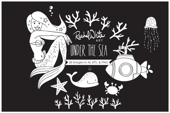 Under The Sea Vector PNG