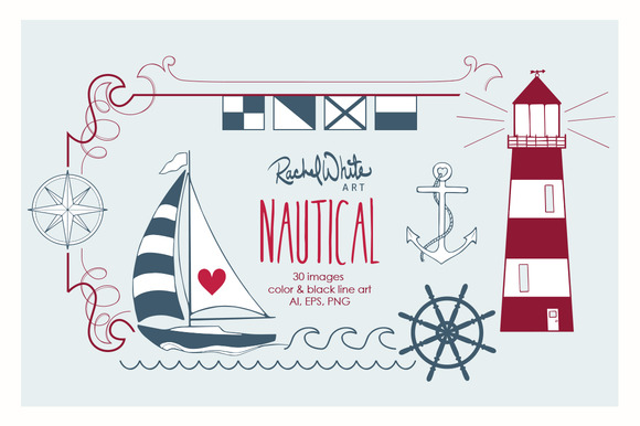 Nautical Vector PNG