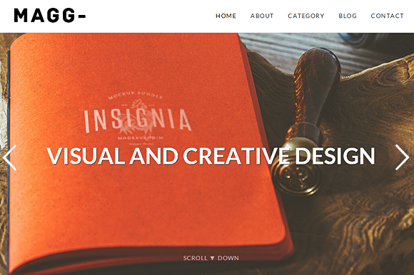 MAGG Responsive WordPress Theme