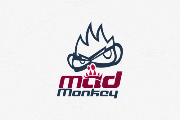 MadMonkey Logo Template