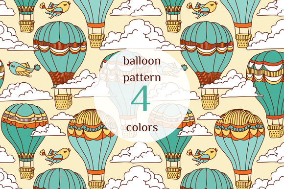 Air Ballon Pattern