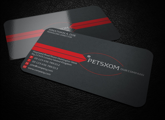 Petsxom Corporate Business Card