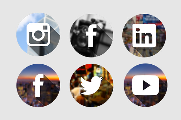 Social Photo Icons