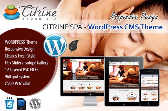 CITRINE SPA WordPress CMS Theme