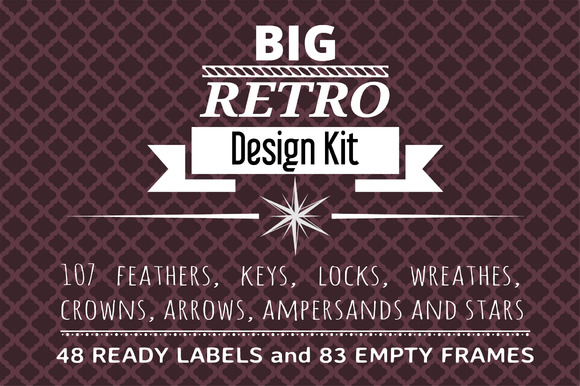 Big Retro Design Kit