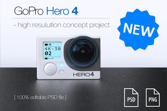 GoPro Hero 4 Concept