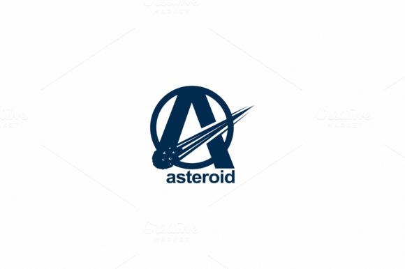 Asteroid Logo Template