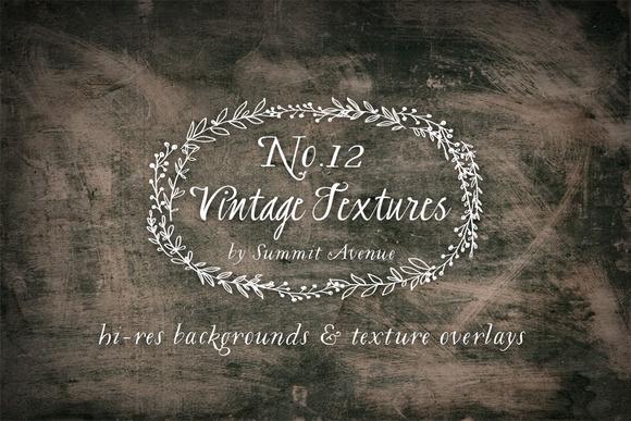 Vintage Textures Overlays