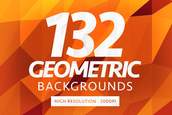 132 Geometric Backgrounds