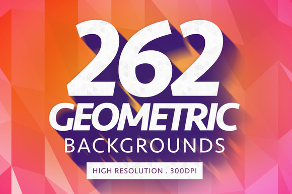262 Geometric Backgrounds