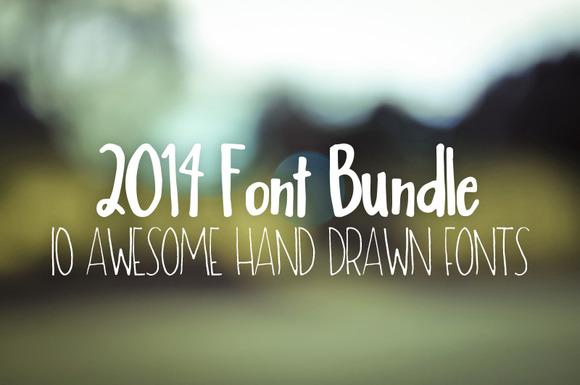 2014 Font Bundle