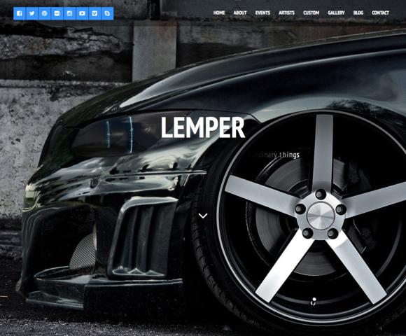 Lemper Multipurpose Wordpress Theme