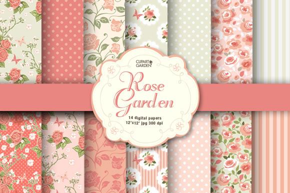 Romantic Floral Papers