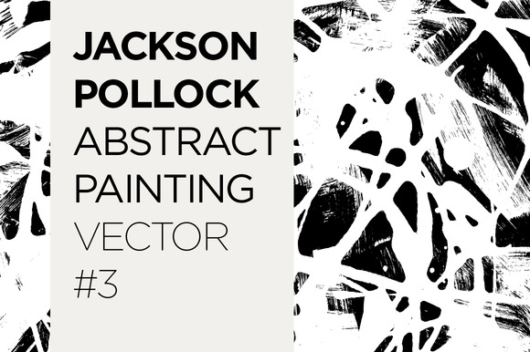 Abstract Painted Pattern Vector #3