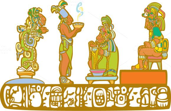 Mayan Priests