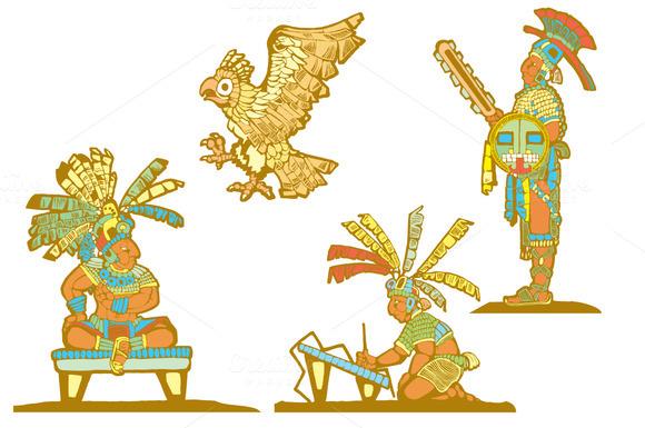 Mayan Woodcut Approach 1