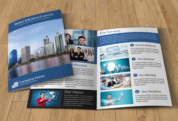 Bi-fold Brochure For Business