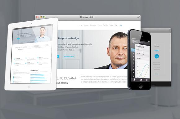 Duvana Multi-purpose Joomla Template
