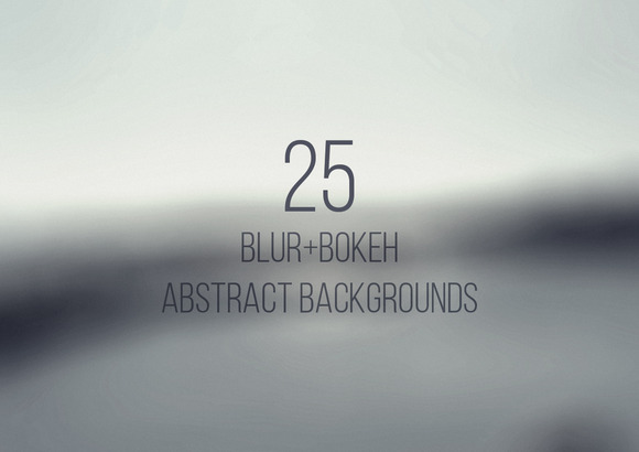 Blur Bokeh Abstract Backgrounds