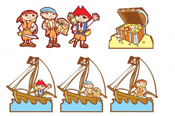 Pirate Kids Group