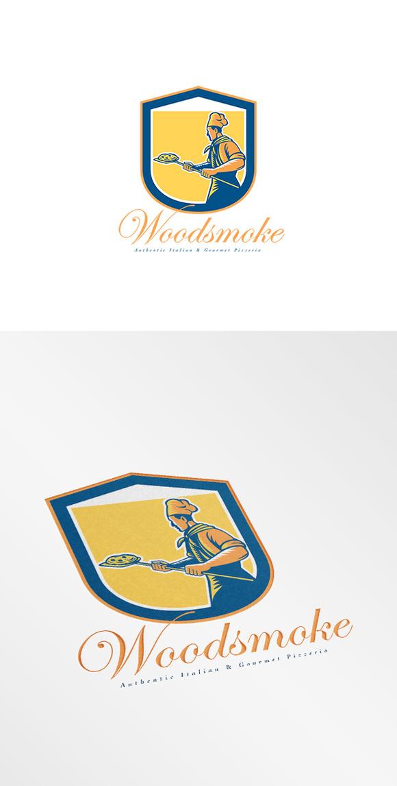 Woodsmoke Italian Pizzeria Logo