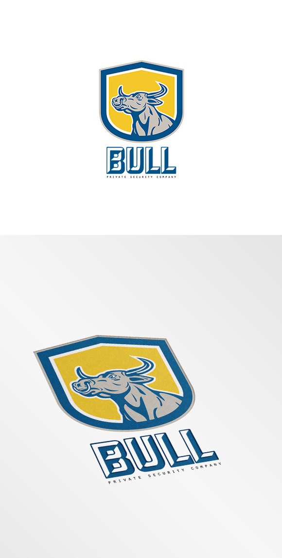 Bull Private Security Company Logo