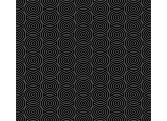 Seamless Pattern Of Overlap Black Ci