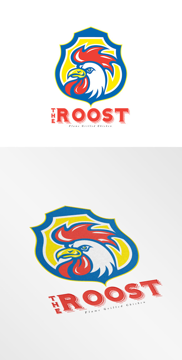 The Roost Flame Grilled Chicken Logo