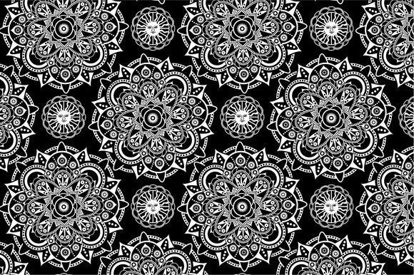 Seamless Mistical Pattern