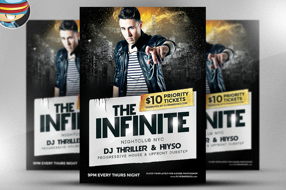The Infinite PSD Flyer Template