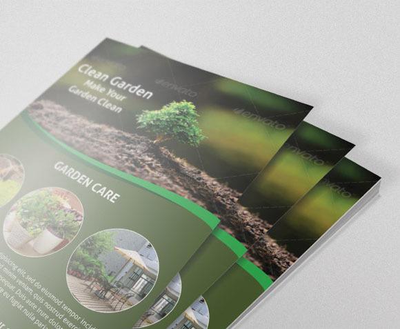 Flyer For Gardening Business
