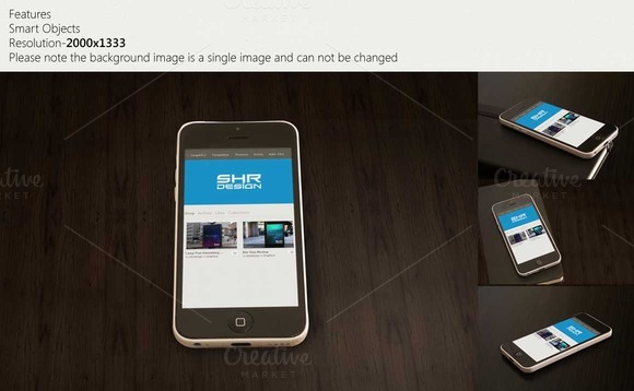IPhone 5c Wood