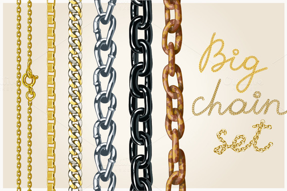 Set Of Realistic Vector Chains