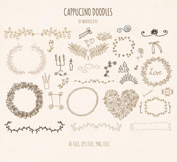 Cappucino Doodles