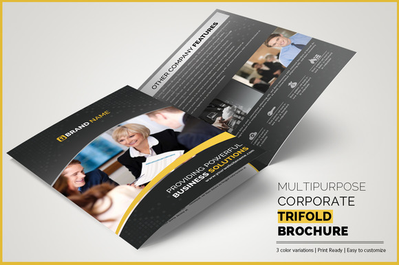 Multipurpose Corporate Trifold