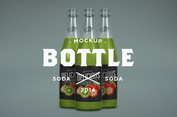 Flavored Soda Mock-Up