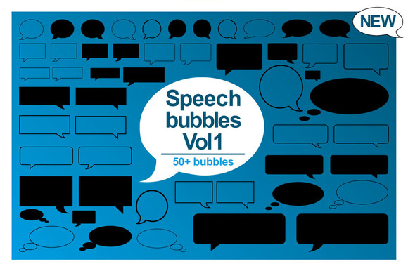 50 Speech Bubble Designs