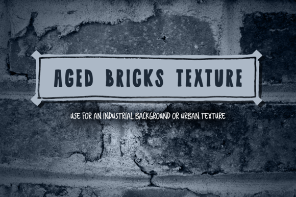 Aged Bricks Texture Background